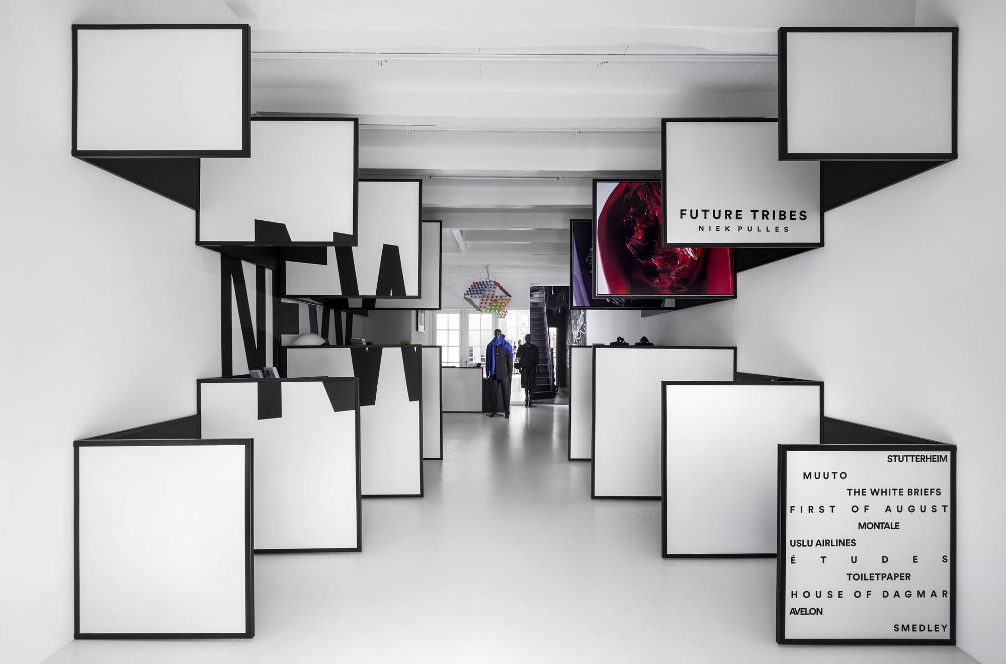 Interview van tijdschrift naar winkel jeroen dellensen i29 over ontwerp frame store - Deur tijdschrift nieuws ...